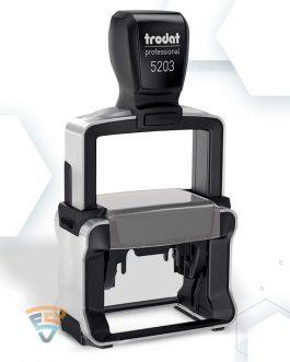 Правоъгълен печат 5203 47х26 мм